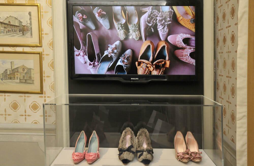 Выставка обуви в Эрмитаже