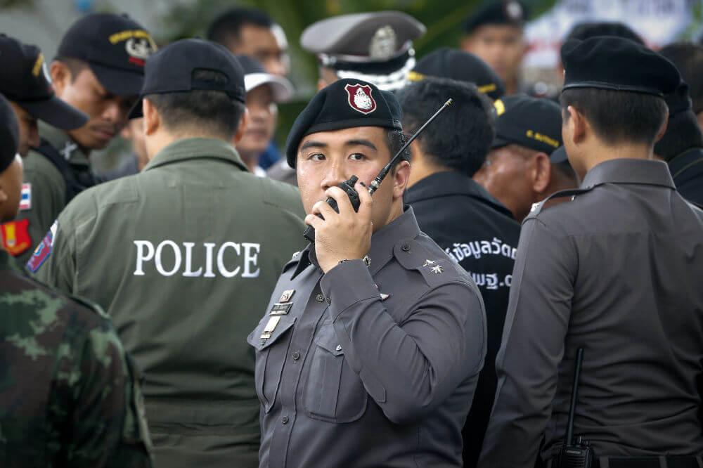 13 взрывов прогремело сегодня в Таиланде