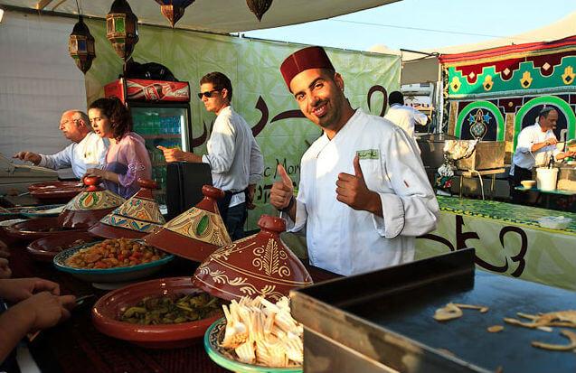 Фестиваль еды в Тель-Авиве