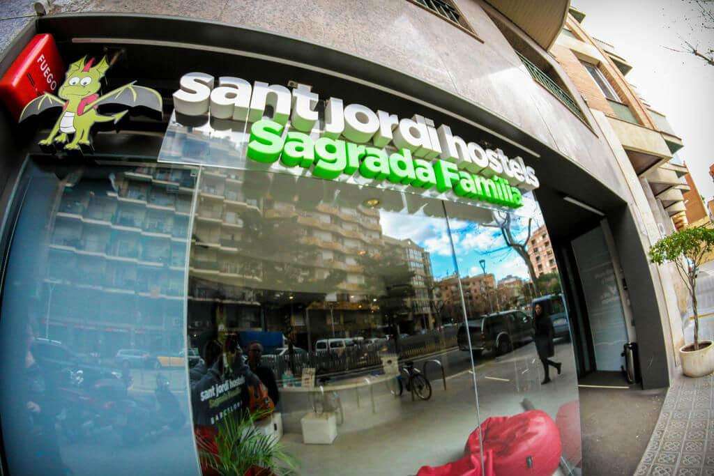 Хостел Sant Jordi Sagrada Familia
