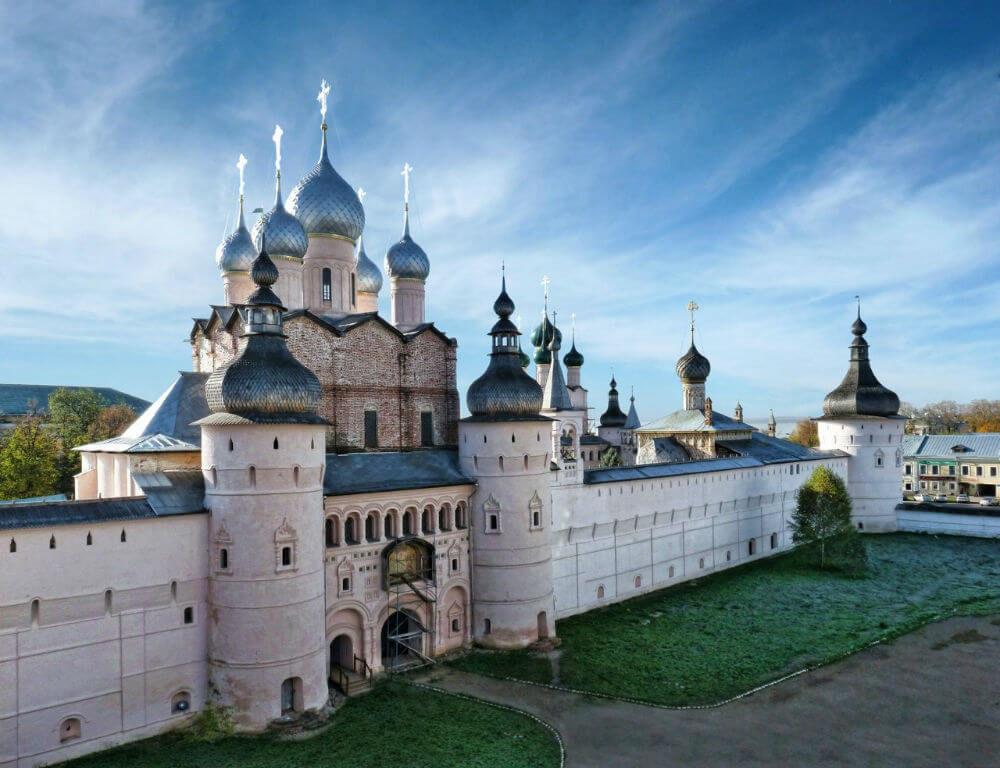 На уху в Ростов Великий