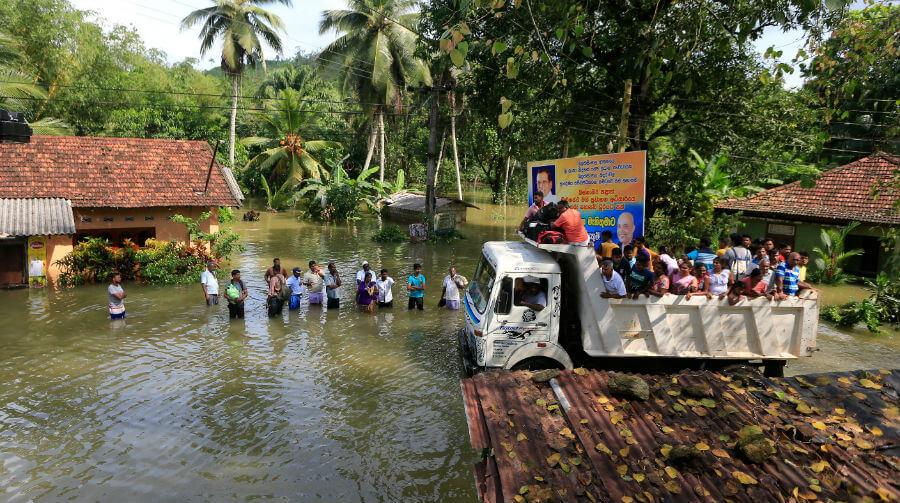 Наводнение на Шри-Ланке