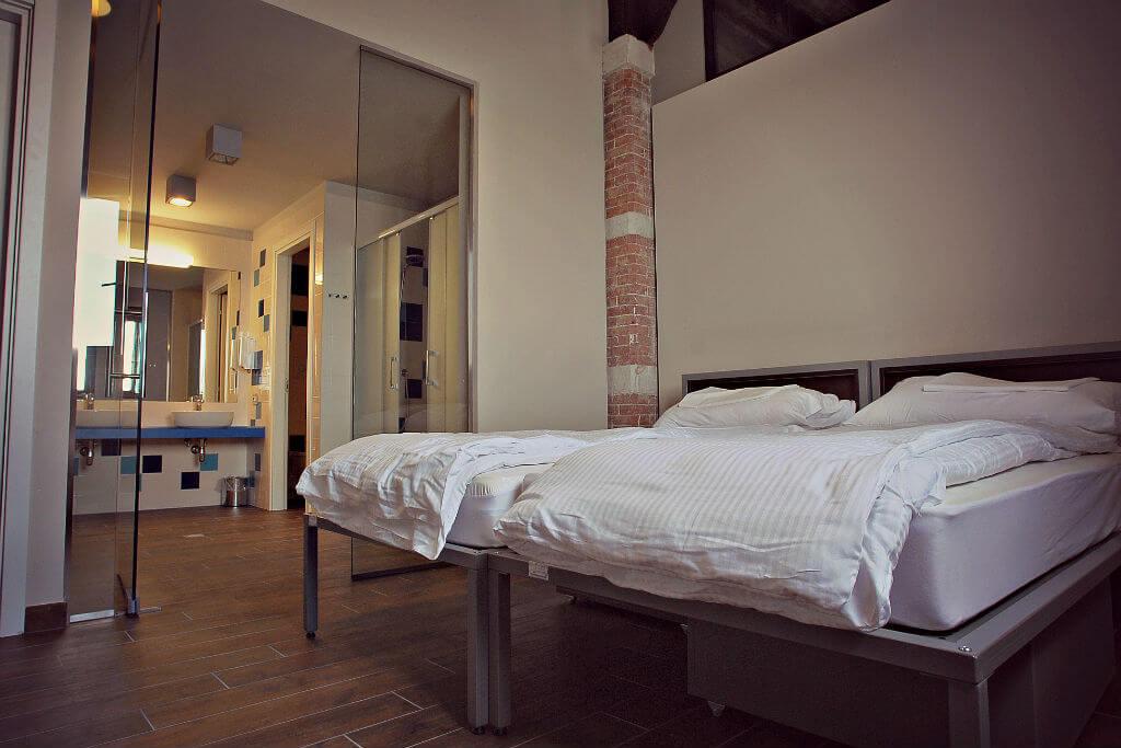 Номер Twin Room в хостеле Ostello Venezia