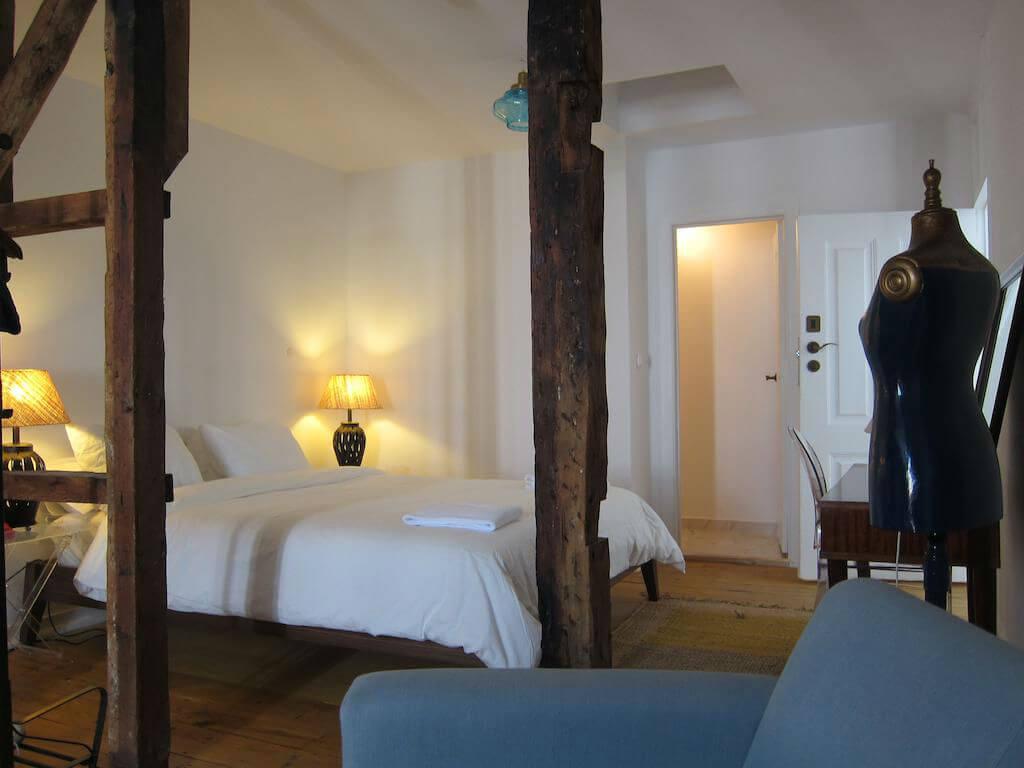 Номер с двуспальной кроватью в хостеле The Independente
