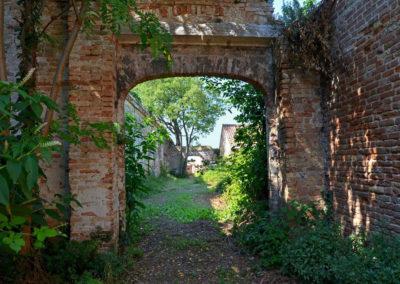 Руины Лаззаретто Веккьо