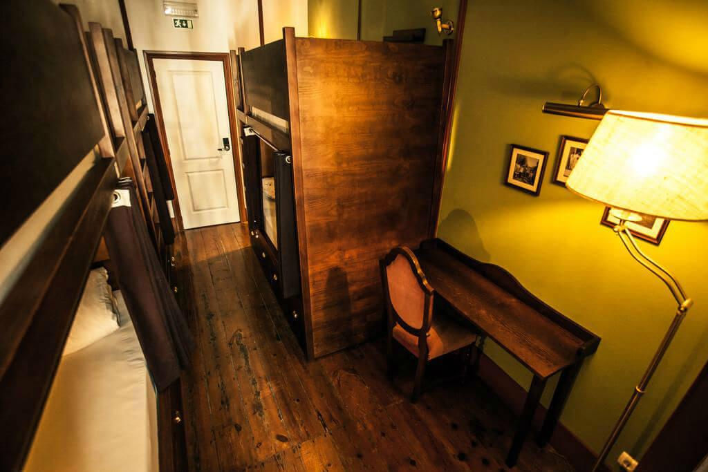 Спальный номер хостела Home Hostel