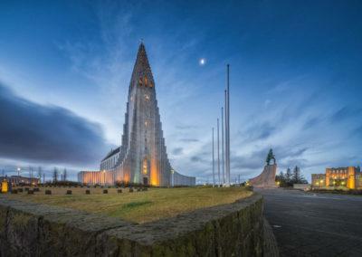 Вид на церковь Хатльгримскиркья, фото 2