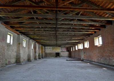 Внутри Лаззаретто Нуово