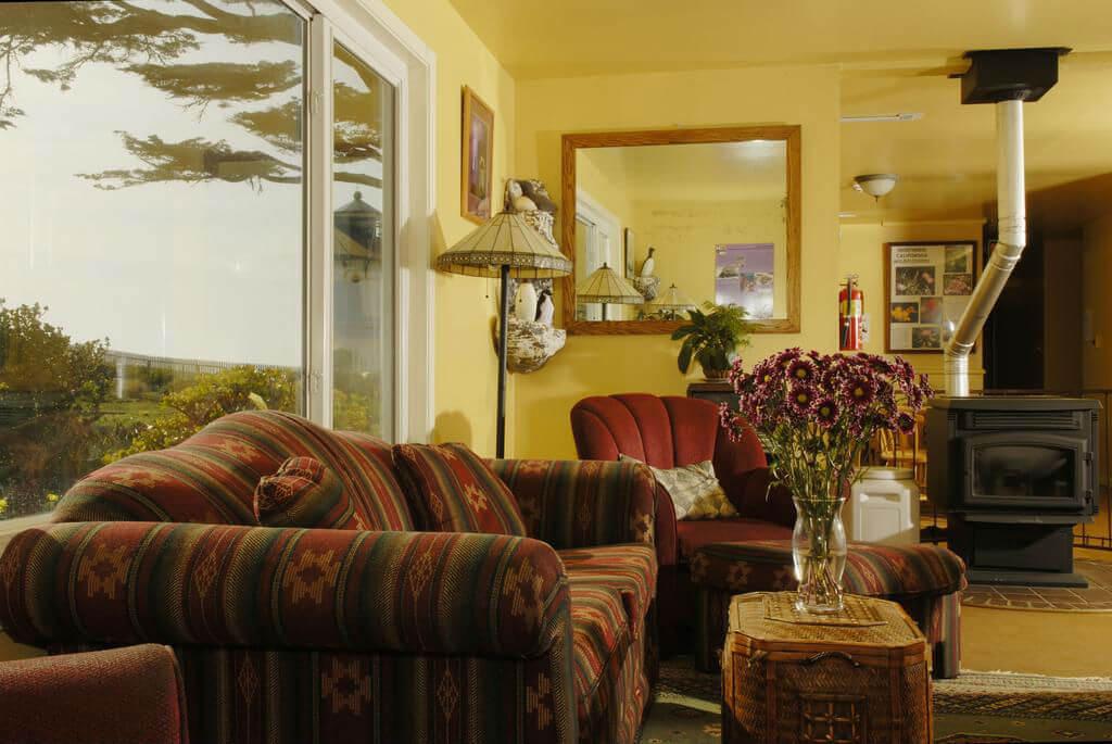 Зона отдыха в хостеле Point Montara Lighthouse Hostel