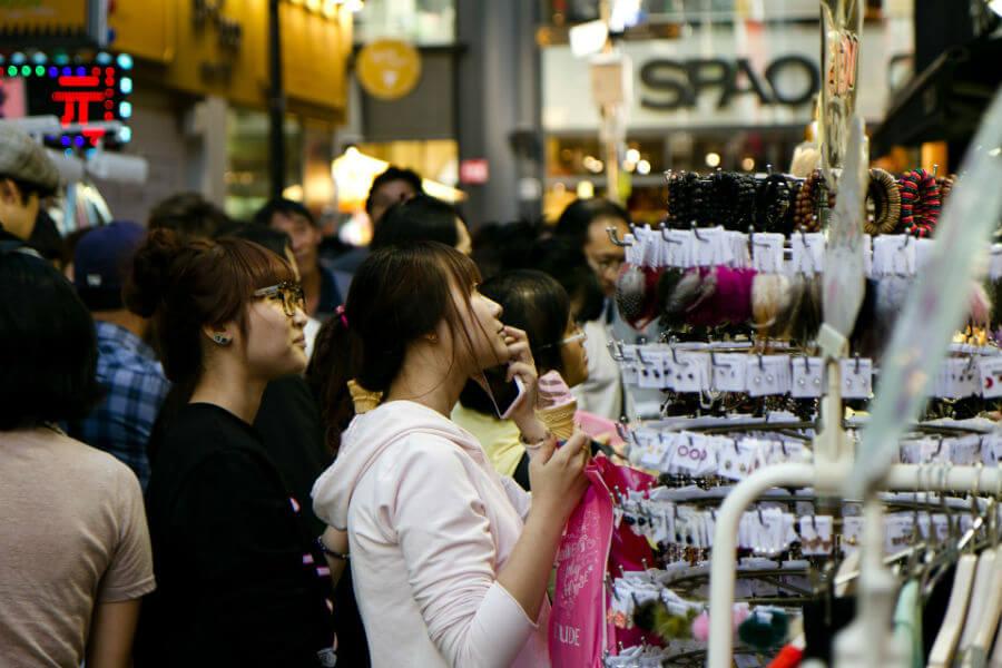 На шопинг в Сеул