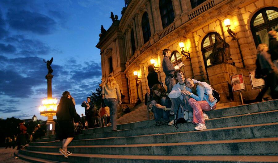 Ночь музеев в Праге