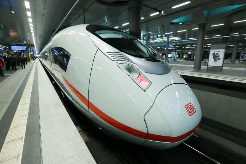 Новая скоростная жд трасса в Германии