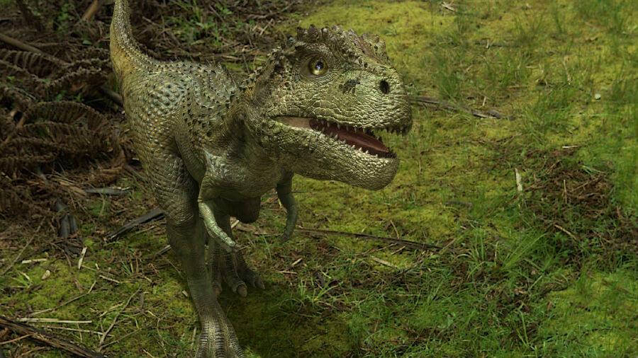 Динозавры (тарбозавры) в Крыму