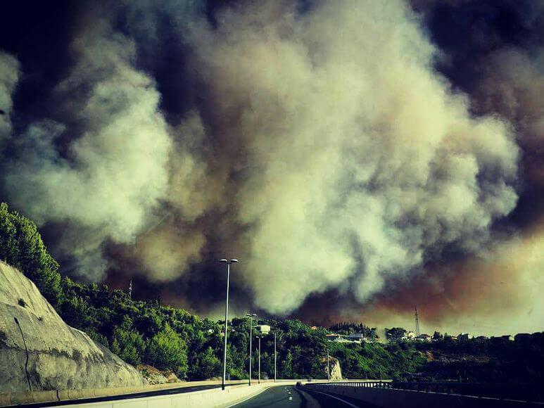 Черногория в огне