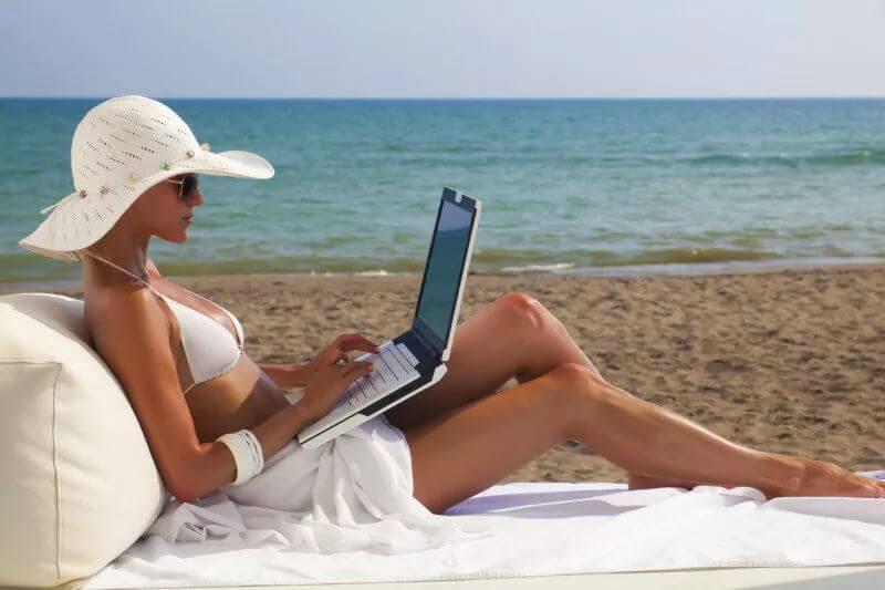 Даже пляжи без Wi-Fi не обойдутся