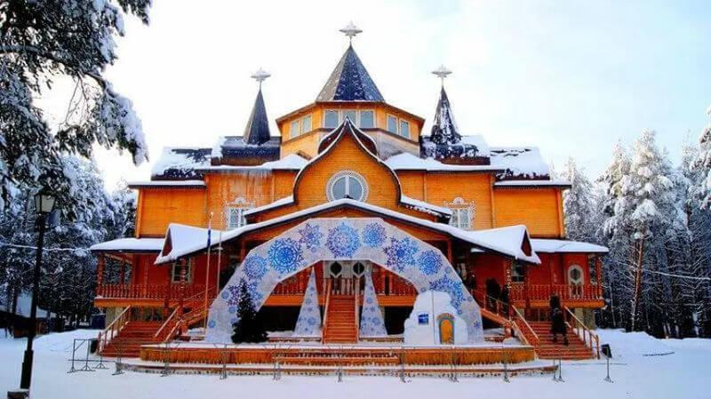 Дворец для Деда Мороза