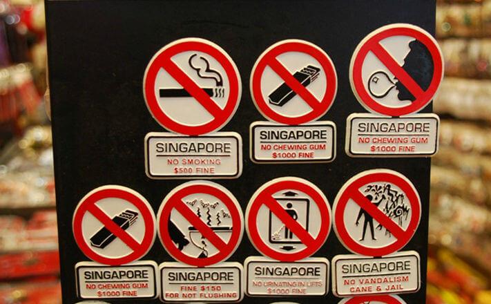Сингапур включился в борьбу против курения