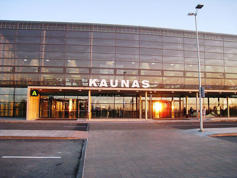 Теперь вылет из Каунаса