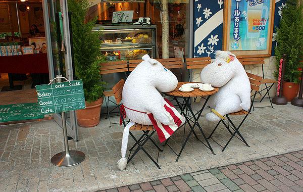 Японцы любят муми-троллей
