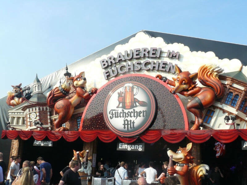 Ярмарка в Дюссельдорфе ждет всех