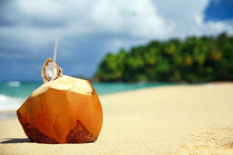 Чествование кокоса в Доминикане