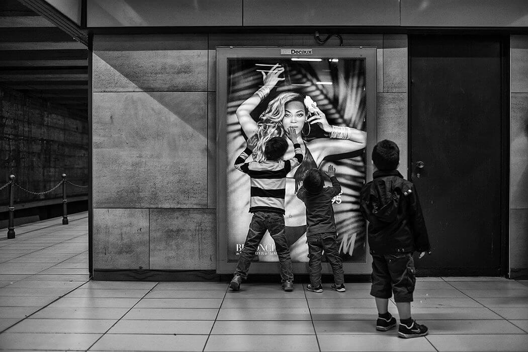 Дети в метро Милана. Фотограф Andrea Donato Alemanno, Flickr