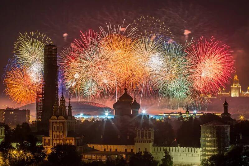 Фестиваль фейрверков пройдет в Москве
