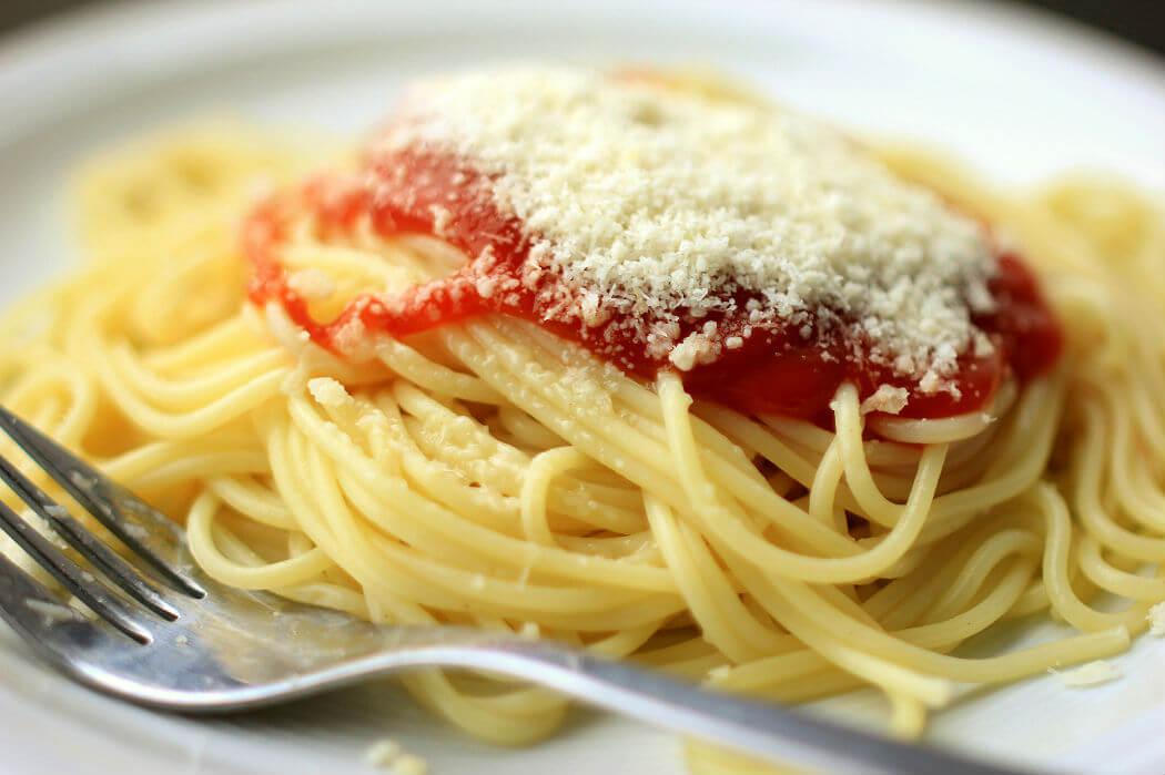 Итальянские спагетти. Фотограф Christian Schnettelker, Flickr