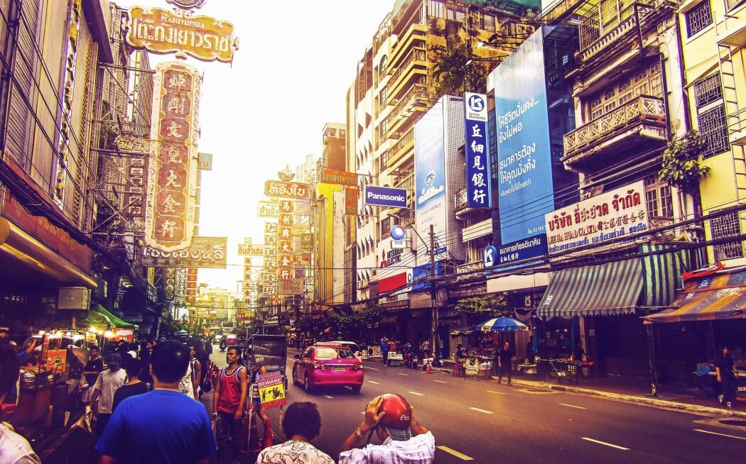 Улица Бангкока