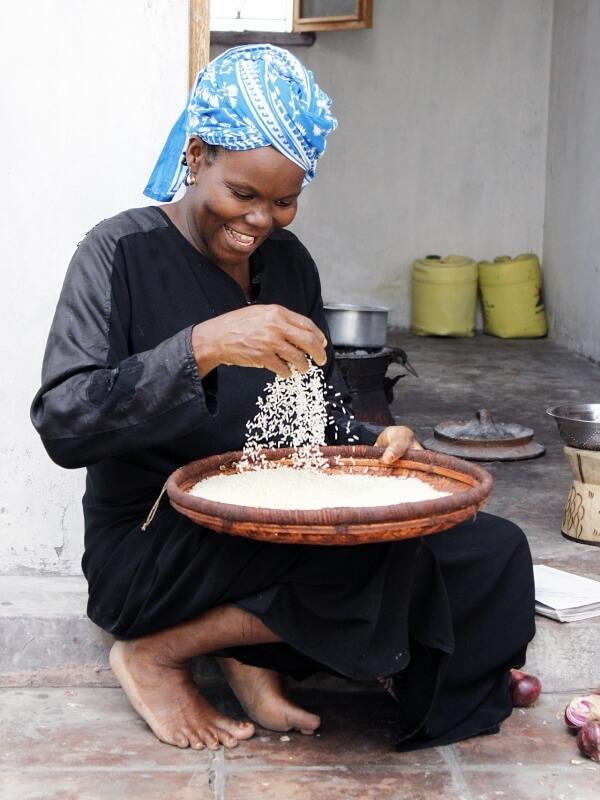 Женщина в Танзании
