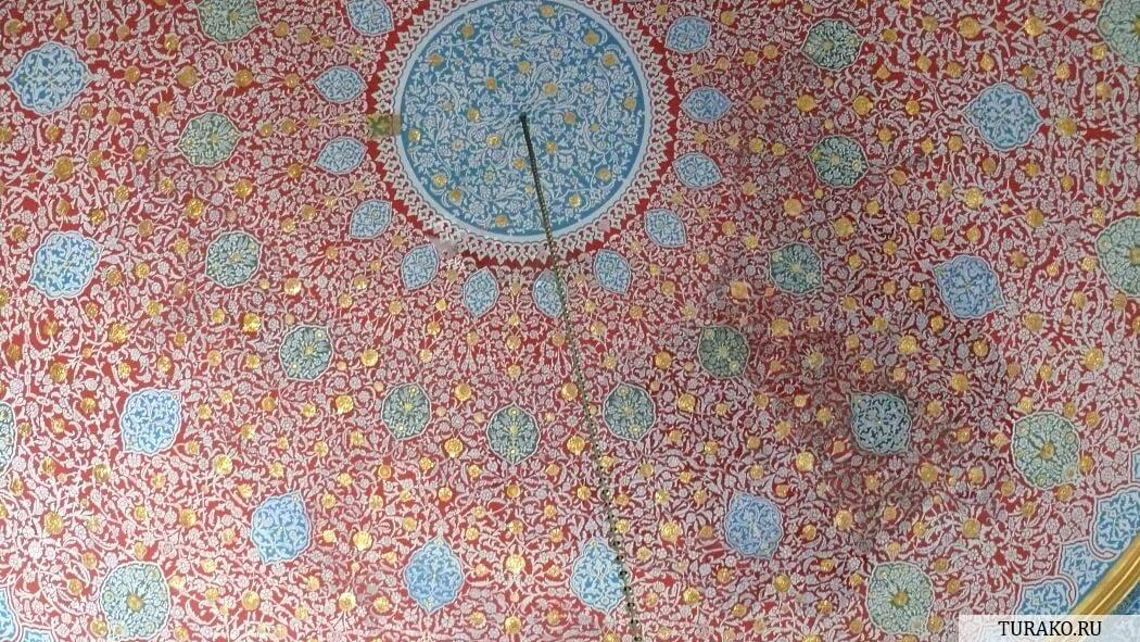 Потолок в Топкапы