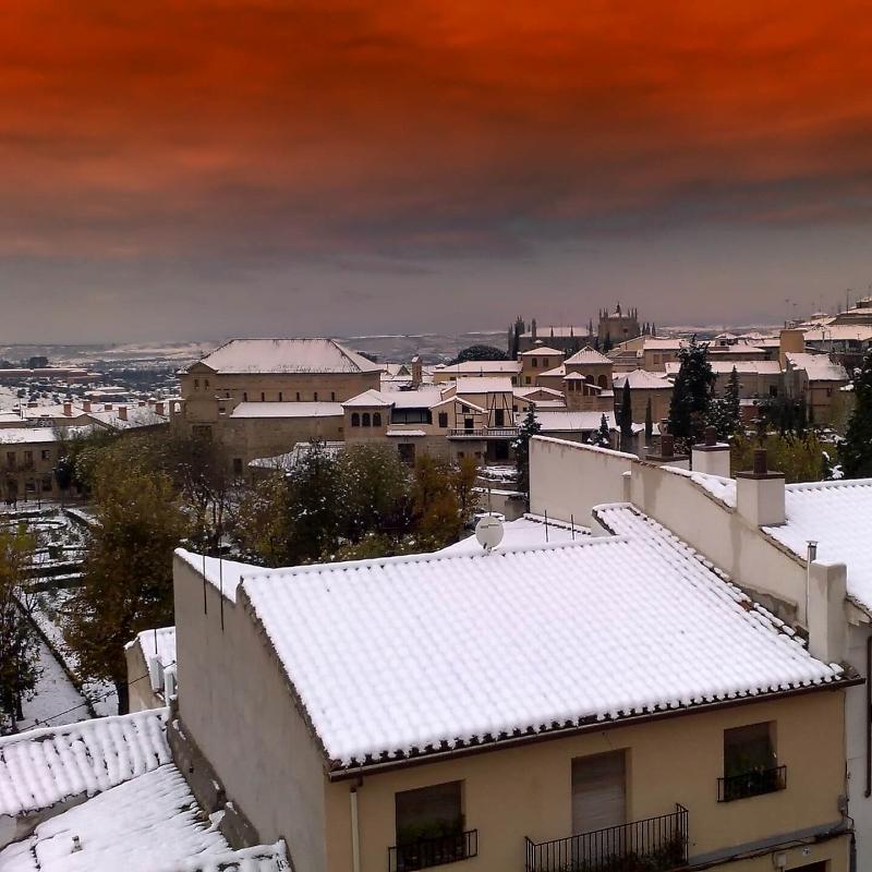 Толедо, Испания зимой