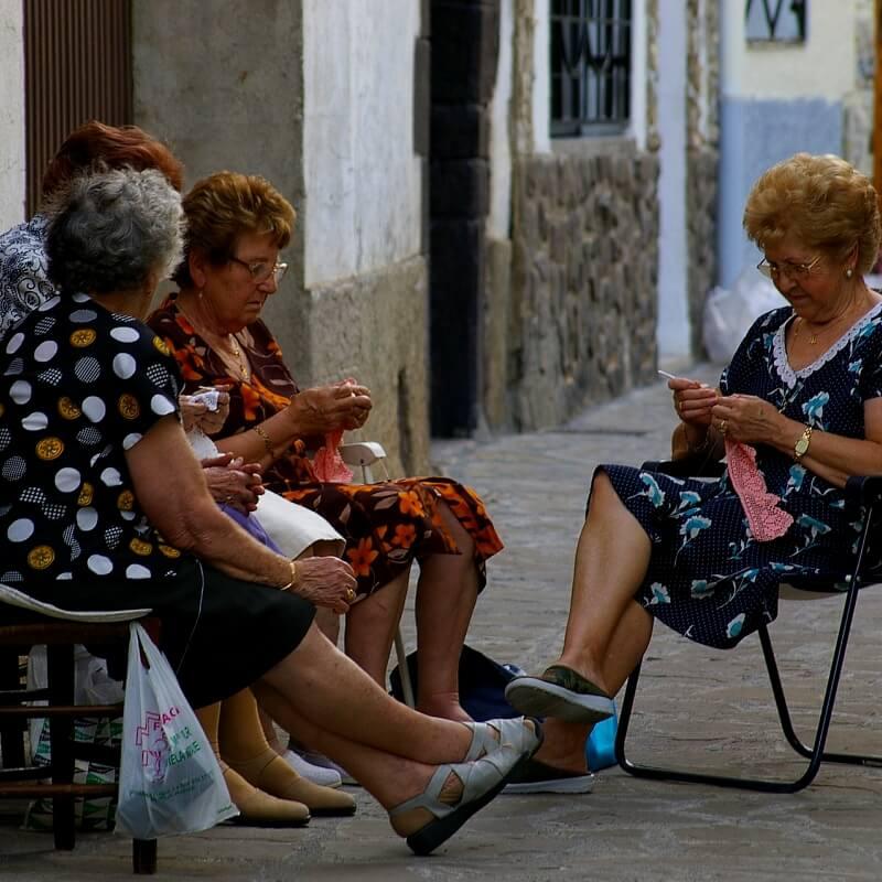 Женщины в Испании