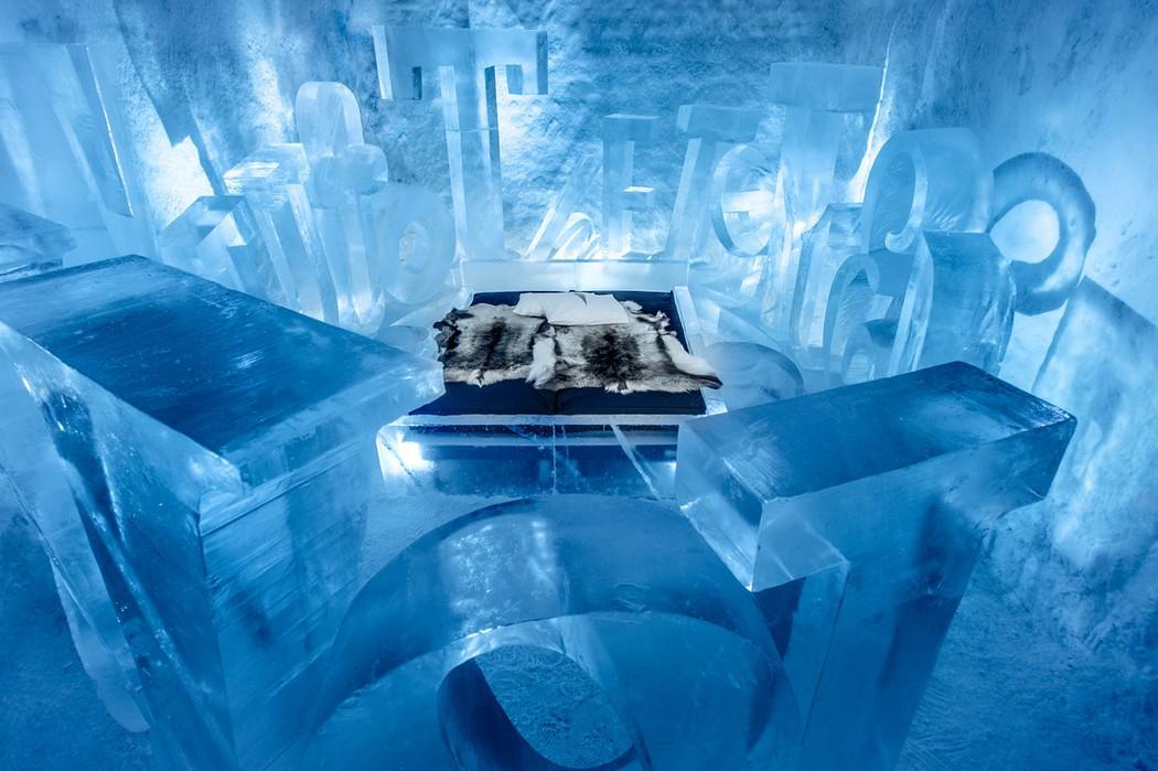 Ледяной отель, северная Швеция