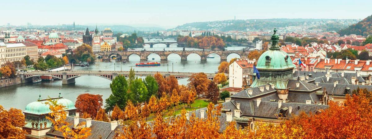 Прага осенью