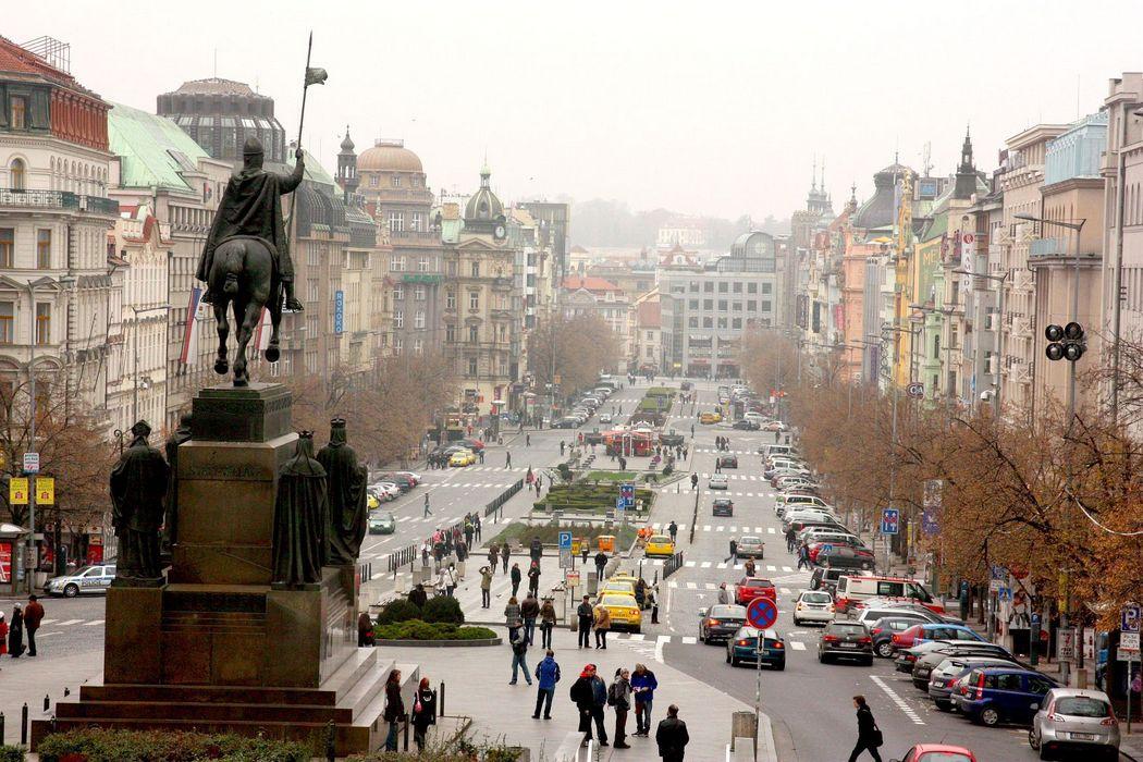 Типичная архитектура Праги