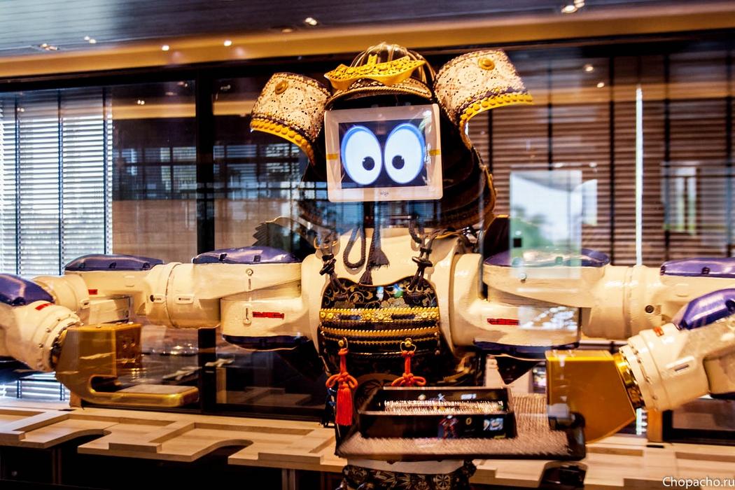 Японский ресторан роботов