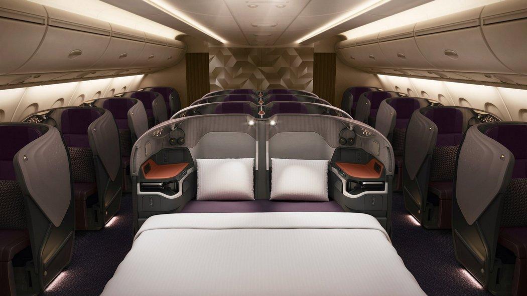 Бизнес класс Singapore Airlines