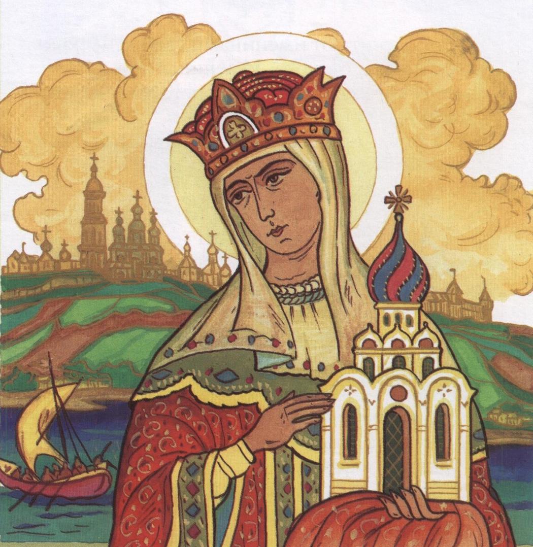 Княгиня Ольга – кровавая месть и христианство