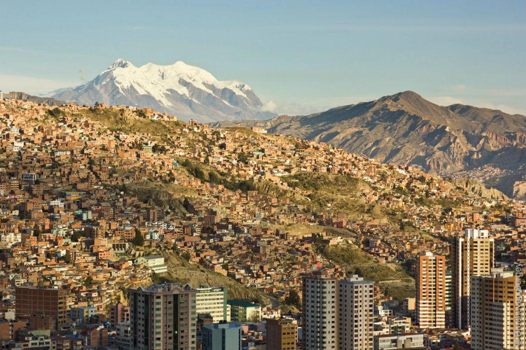 Высокогорная столица Боливии