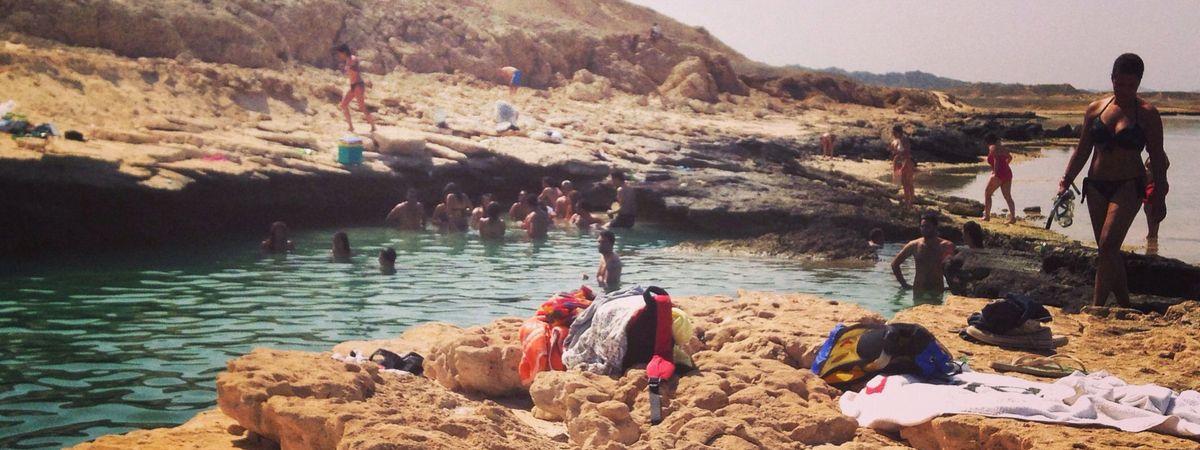 Пляж Марса Найзак, Египет
