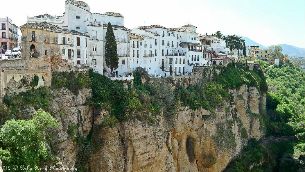 Колоритный городок в Испании