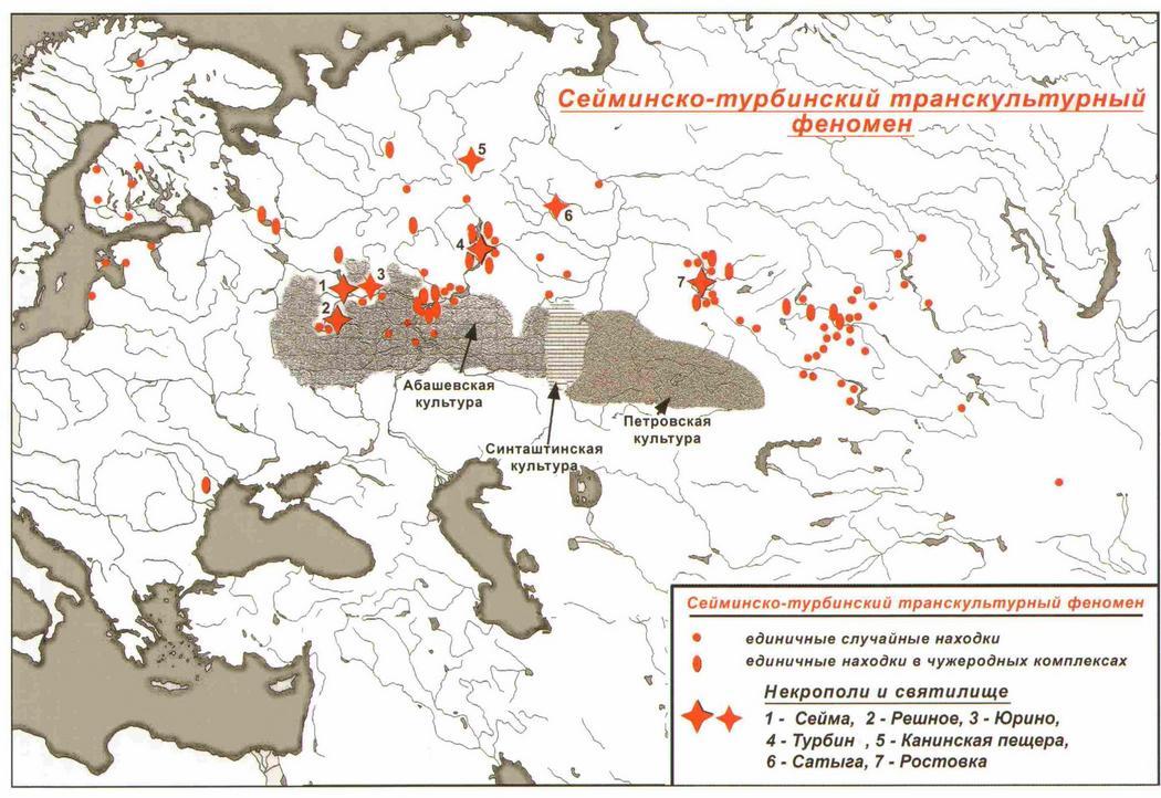 Сейма и Турбино – загадки древней Евразии