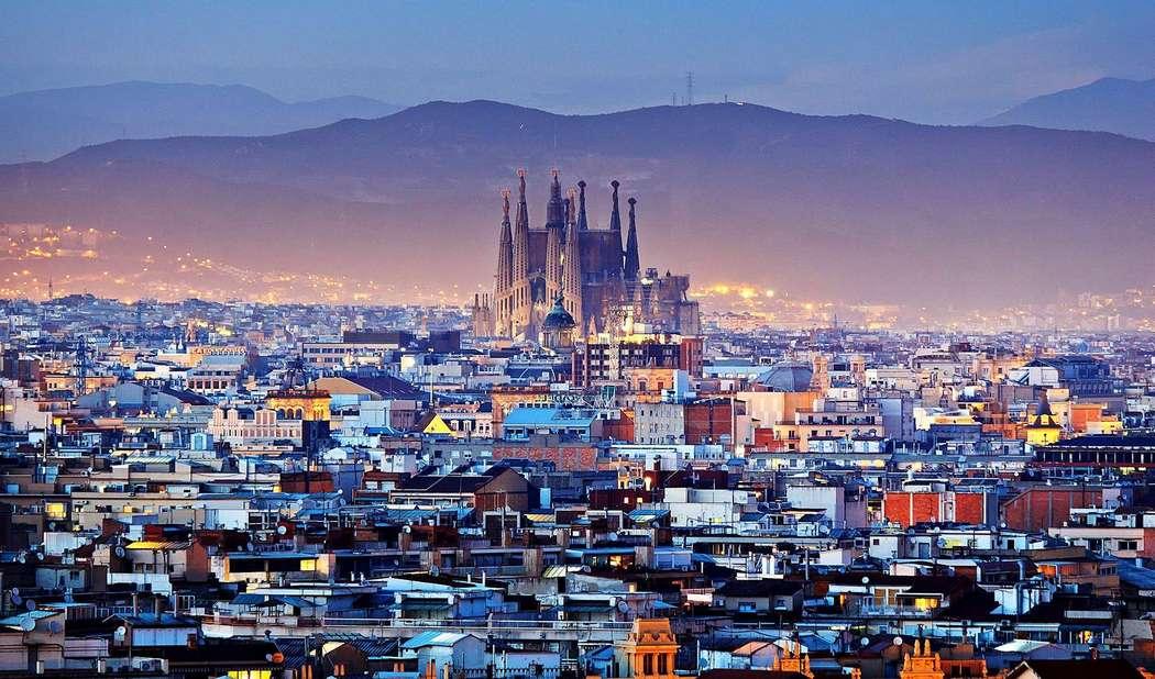 Теплая Барселона в январе
