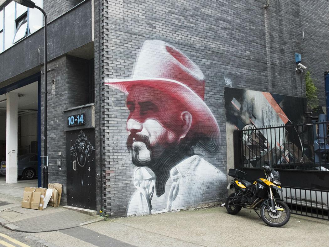 Лондонский стрит-арт