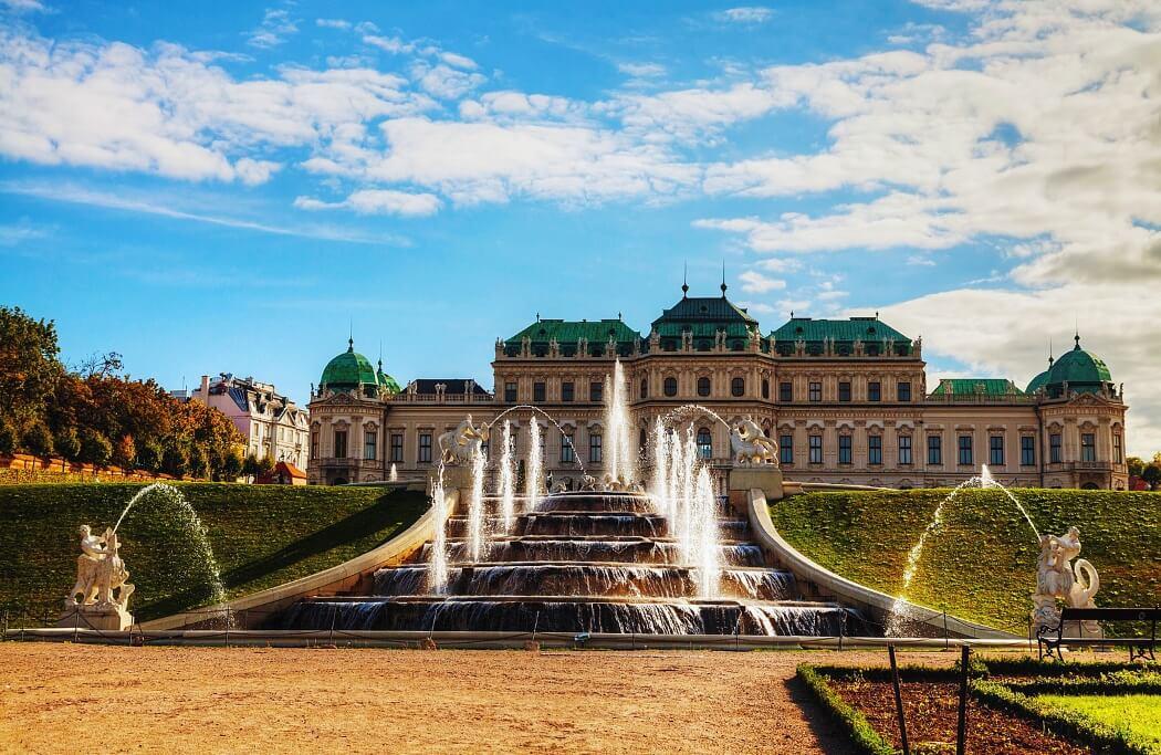 Бельведер – дворец роскоши в Вене