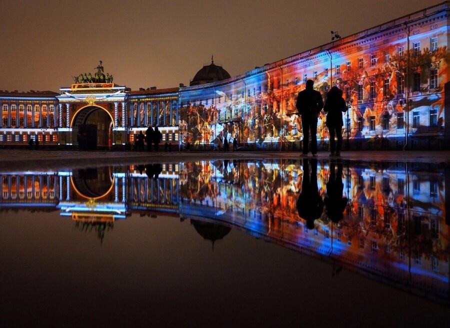 Фестиваль света скоро в Санкт-Петербурге