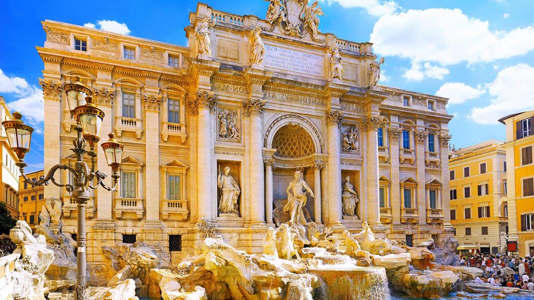 Фонтан Треви – визитная карточка Рима