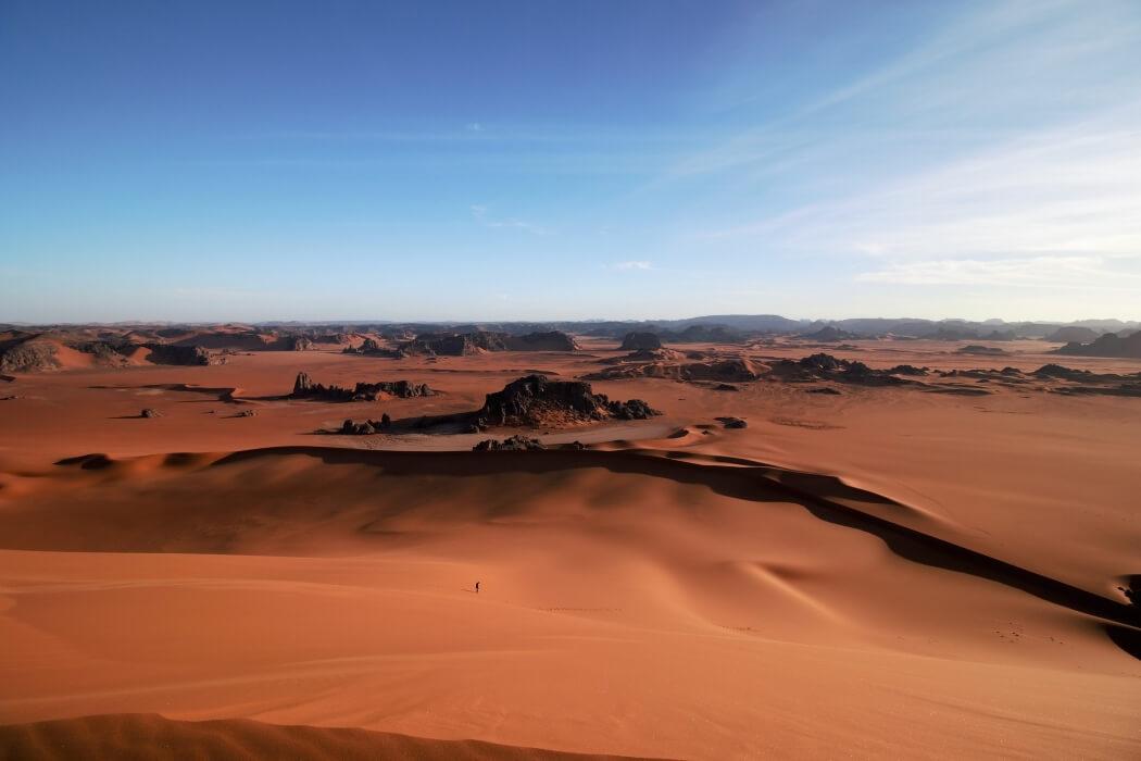 Тассилин-Адджер – удивительный музей Алжира под открытым небом