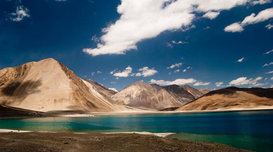 Озеро Пангонг, Тибет